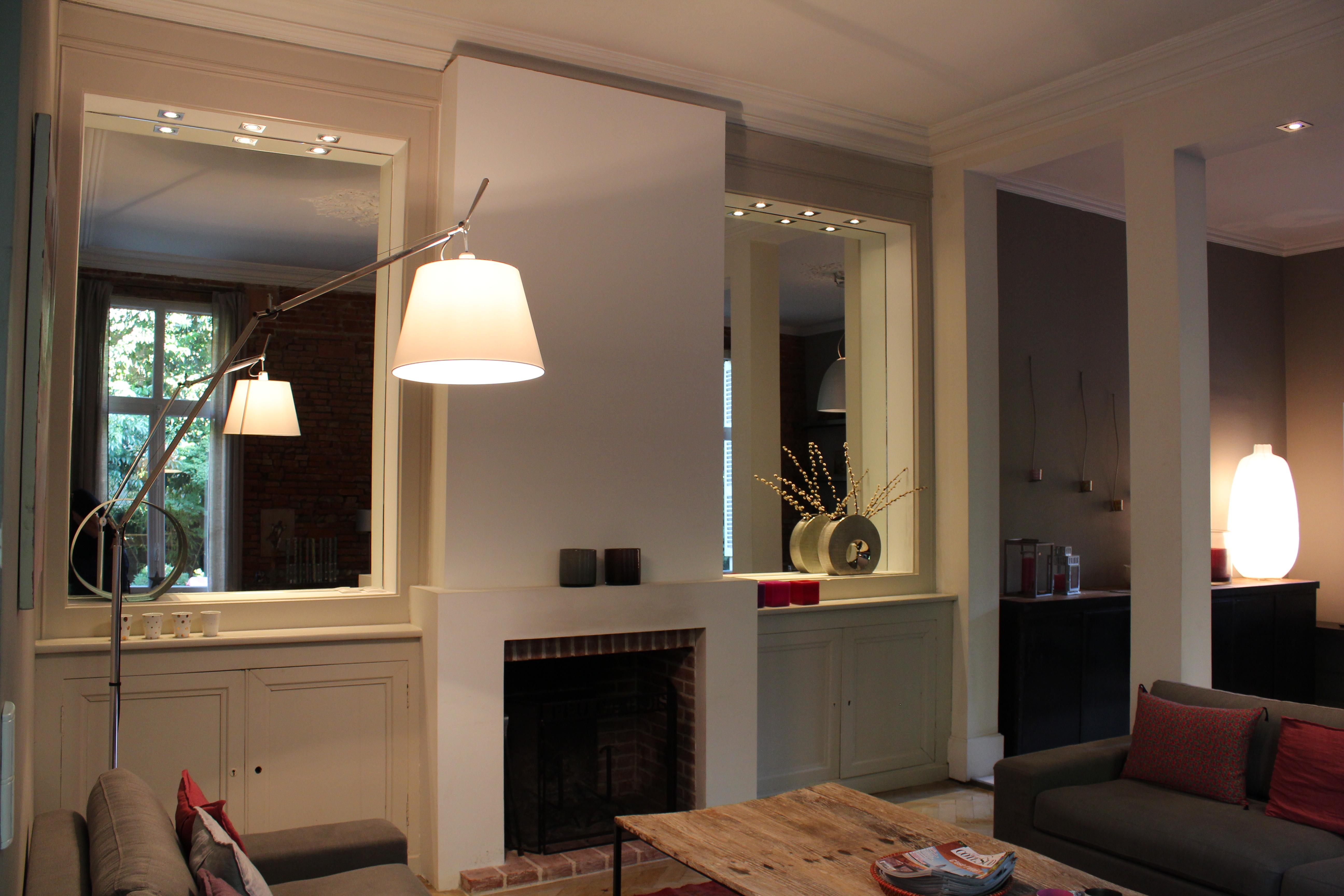 cr ation de rangement et d 39 une chemin e dans une ancienne maison toulousaine. Black Bedroom Furniture Sets. Home Design Ideas